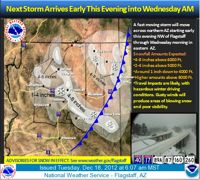Weather Story from National Weather Service, 12-18-2012